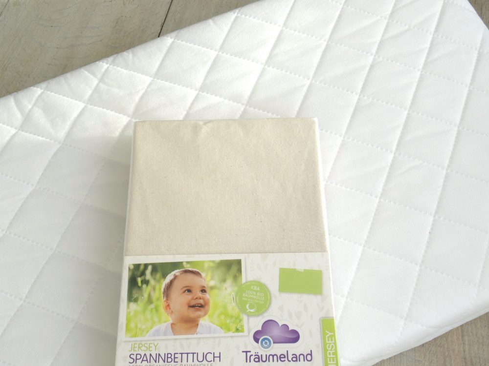 Bednest fitted sheet organic cotton