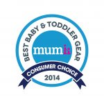MUMMII CONSUMER CHOICE AWARD — 2014